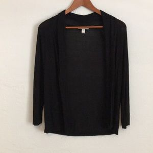 ✨Black 3/4 sleeve cardigan/shrug!